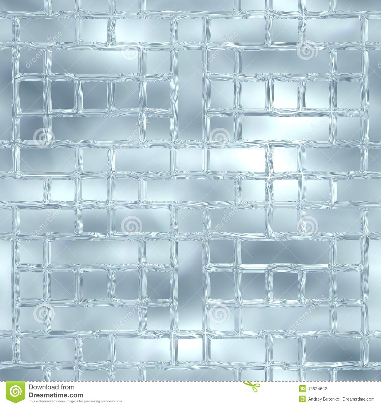 Ice Wall Stock Photography.