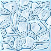 Clipart of frame with ice seamless pattern k16492342.