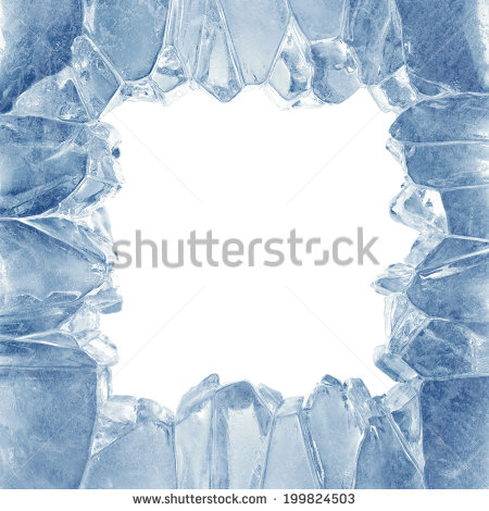 Broken Ice Clipart.