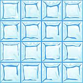 Stock Illustration of ice wall seamless texture k3516058.