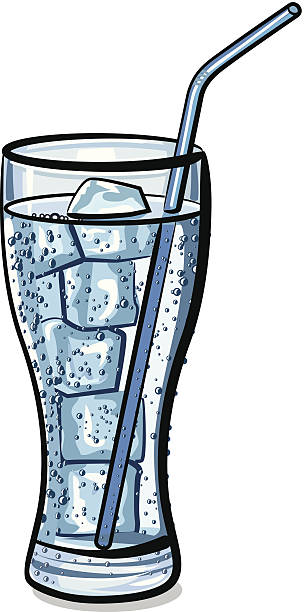 Best Glass Of Ice Water Illustrations, Royalty.