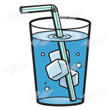 Glass Of Ice Water Clip Art.