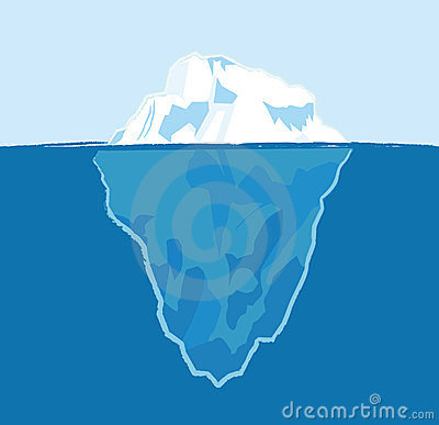 Iceberg Clipart Free.