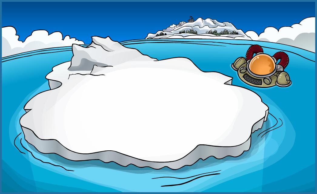 Iceberg Clipart.