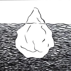 Black Clipart Iceberg White.