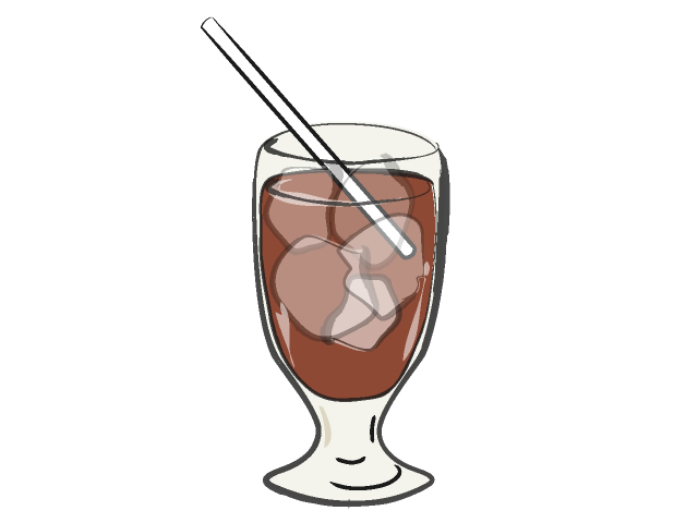 Iced Coffee Clipart.