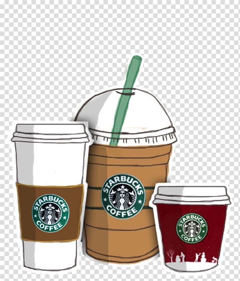 Cafe Iced coffee Starbucks Tea, Coffee transparent.