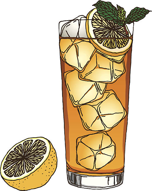 Best Iced Tea Illustrations, Royalty.