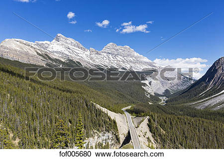 Stock Photography of Canada, Alberta, Banff National Park.
