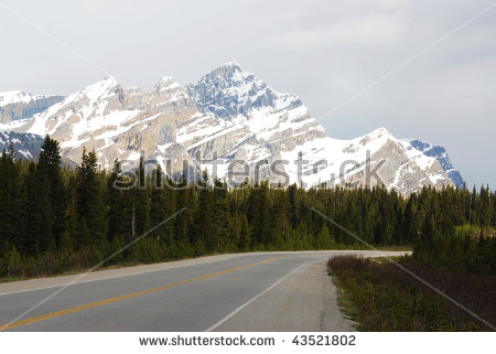 Icefields Parkway Stock Photos, Royalty.