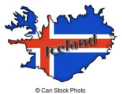 Clipart of iceland.