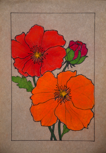 Iceland Poppy Clip Art, Vector Images & Illustrations.