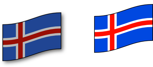Icelandic Flag Clip Art at Clker.com.