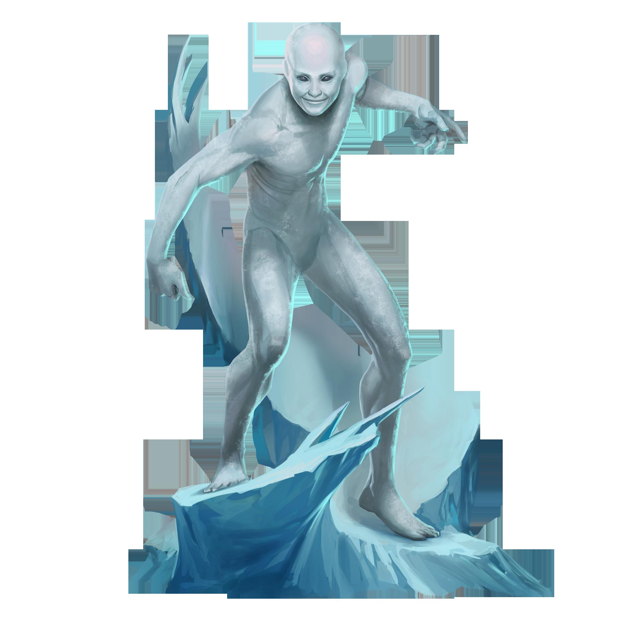 Iceman #Clip #Art. (Puzzle Quest) ÅWESOMENESS!!!™ ÅÅÅ+.
