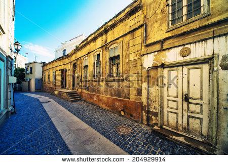 Icheri Sheher Banco de Imagens, Fotos e Vetores livres de direitos.