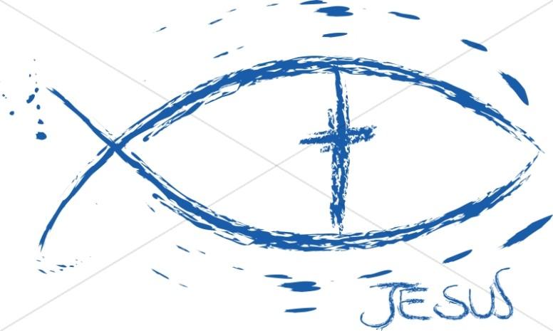 Ichthus Symbol.