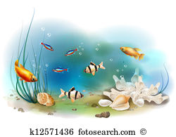 Ichthyology Clip Art Vector Graphics. 206 ichthyology EPS clipart.