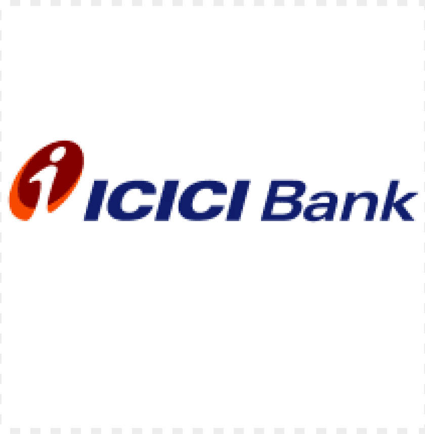 icici bank logo PNG image with transparent background.