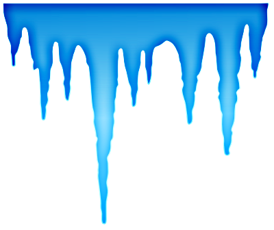 Icicle Clipart.
