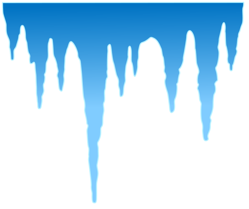 Free Clipart: Icicles.