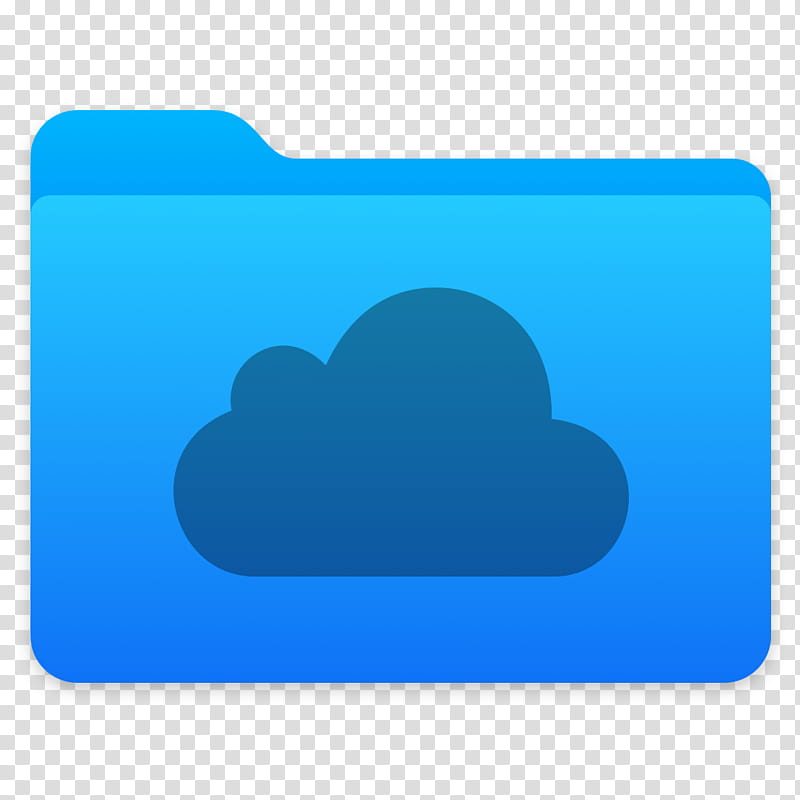 Next Folders Icon, iCloud, iCloud folder icon transparent.