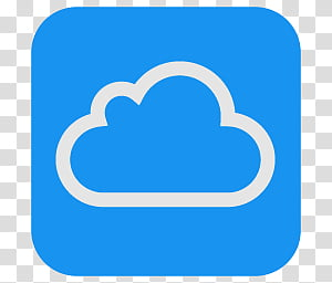 ICloud icon transparent background PNG clipart.