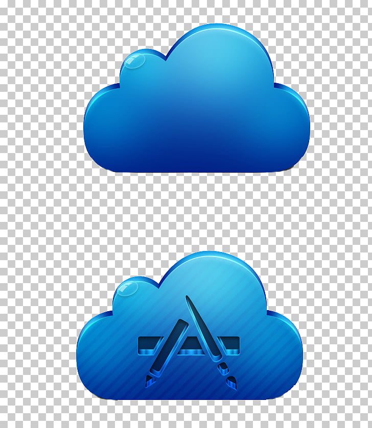 ICloud Apple Icon format Icon, Floating cloud PNG clipart.