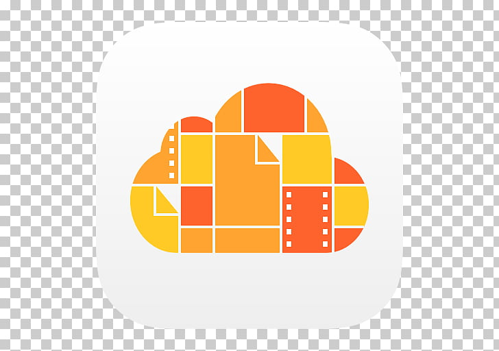 Area text brand yellow, iCloud Drive, orange and yellow.