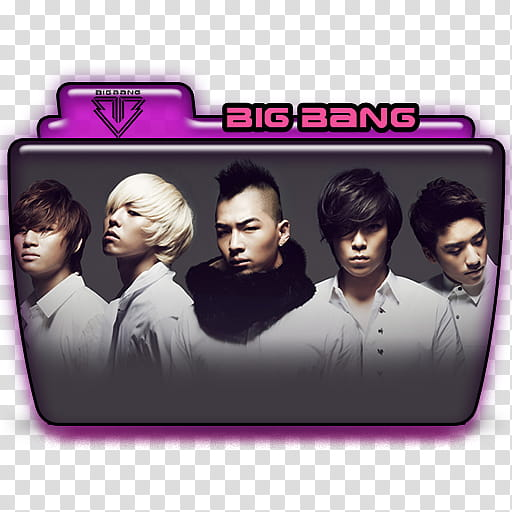 Carpetas BIG BANG ICO , Big Bang () icon transparent.