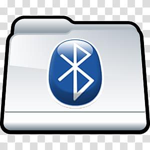 Folder Icons ICO , Bluetooth , Bluetooth logo transparent.