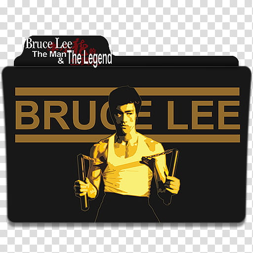 Bruce Lee Movies Collection Folder Ico, Bruce Lee V.