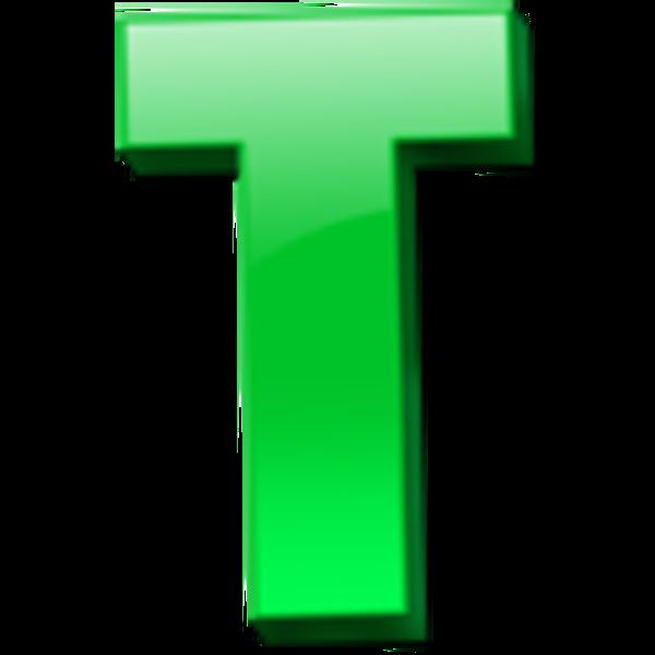 Letter T Icon 1.
