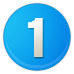 Number 1 Icon Png #386 #364059.