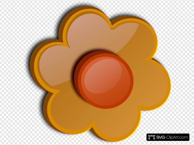 Flower 48 Clip art, Icon and SVG.