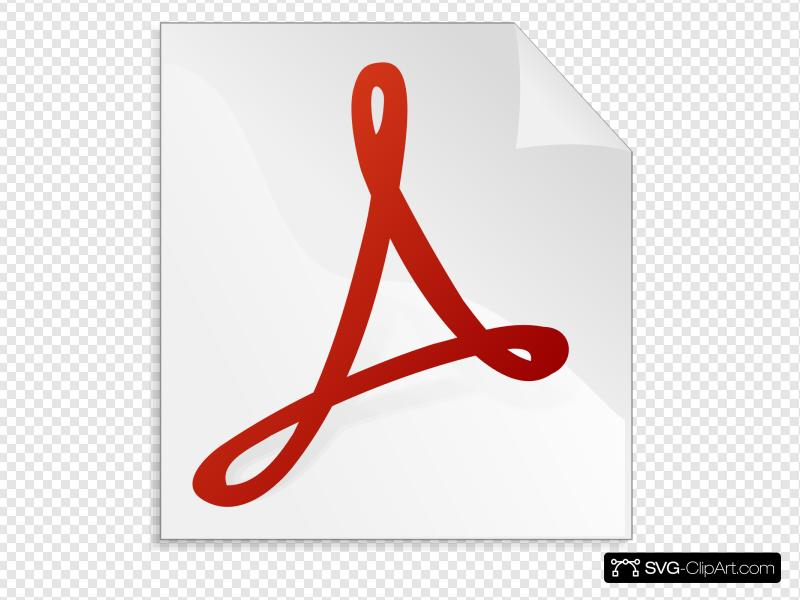 Adobe Acrobat Clip art, Icon and SVG.