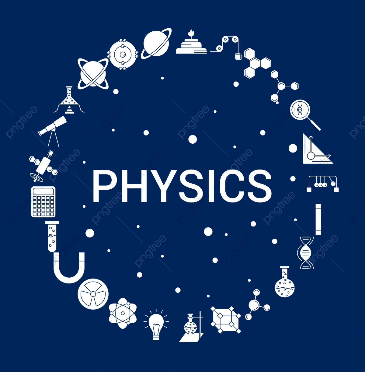 Creative Physics Icon Background, Atom, Biology, Book PNG and Vector.