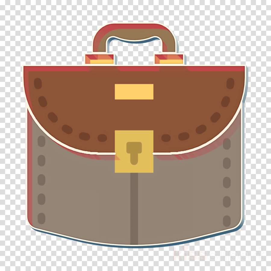 Business icon Suitcase icon Bag icon clipart.