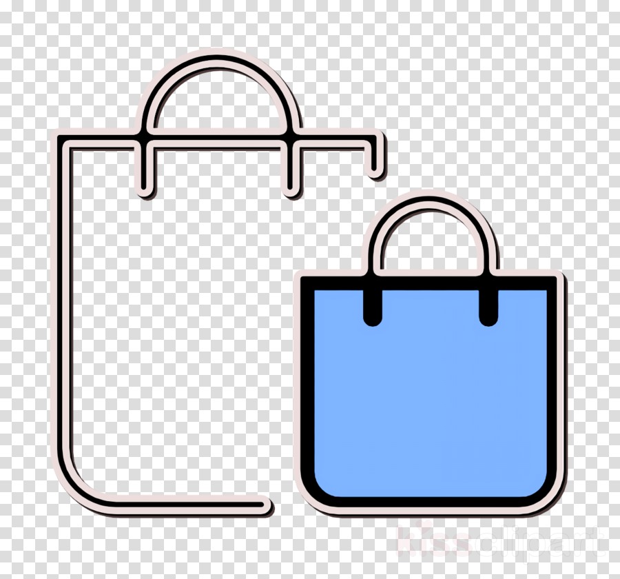 Shopping bag icon Bag icon Business Set icon clipart.