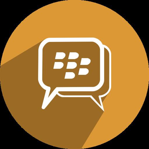 Bbm, media, Social, network, free icon.