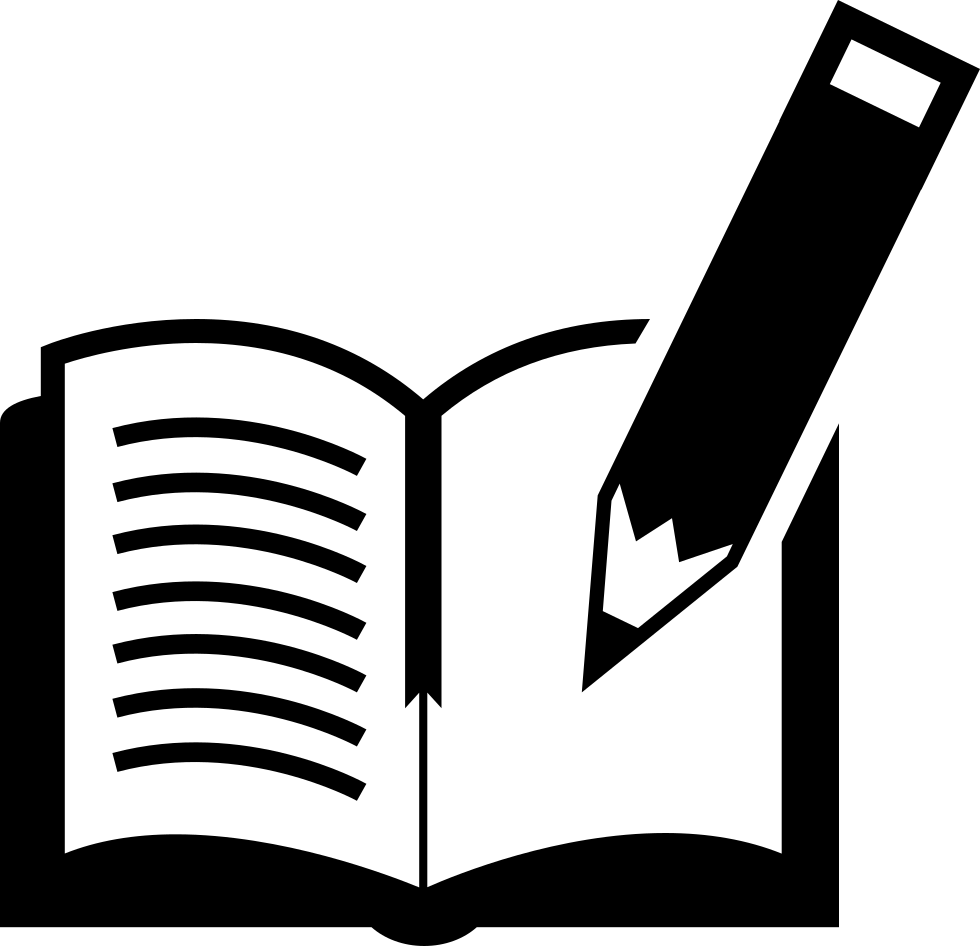 Book And Pen Svg Png Icon Free Download (#17660.