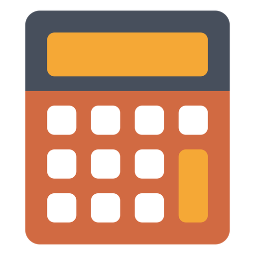 Old school calculator icon.