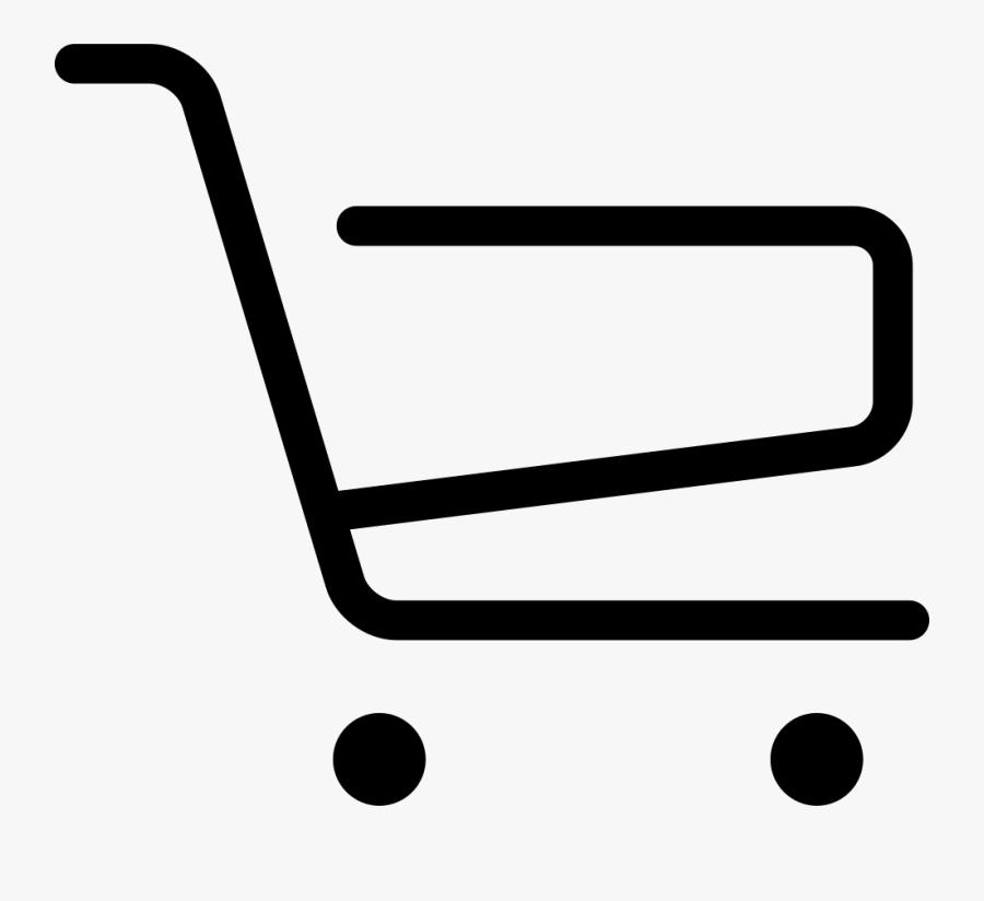 Shopping Cart White.