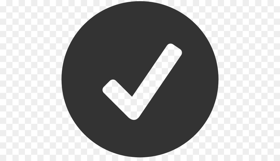 Check Mark Icon png download.