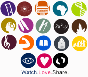 School Subjects Icons Logos By Art Acolyte Clip Art at Clker.com.