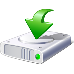 Download icon hard disk icon clipart image #17847.