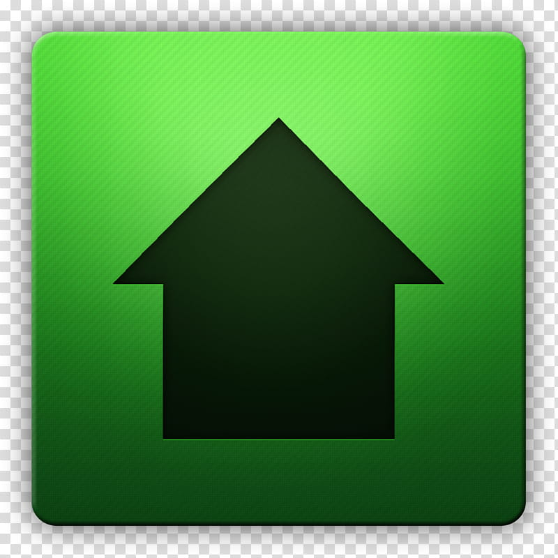 Clean HD Icon II, Home, upload icon transparent background.