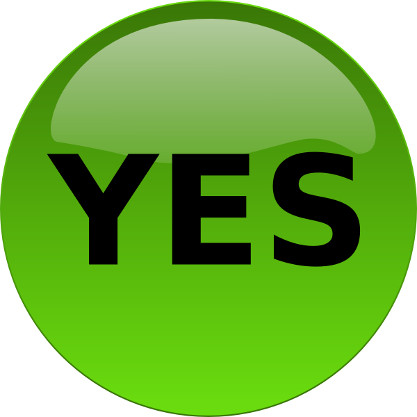 Yes Png Clipart Download #39553.