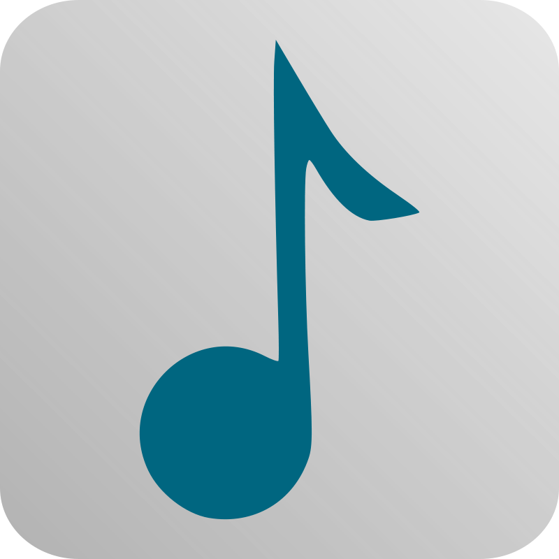 Free Clipart: Music Icon.