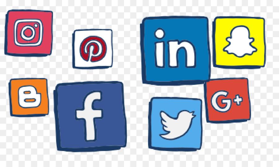 Social Media Icon clipart.