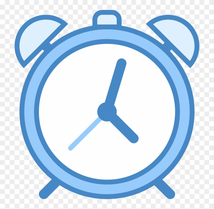 Clocks Clipart Blue.